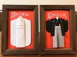 【和婚♡受付サイン】ウェルカムスペースをお洒落にする和装セット♡白無垢&袴(ドレス色当て・席札も販売)ブライダル・結婚式の画像