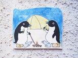 タイルの動物図鑑 キャンプ(アデリーペンギン)の画像