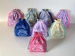 《選べるカラー》 コップ袋単品販売  入園入学グッズ・お習い事に 名入れ無料 の画像
