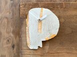 【受注生産】白に黄色3 掛け時計の画像