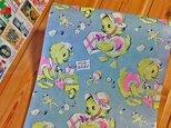 U.S.A. ヴィンテージ包装紙【アヒルの赤ちゃん】DA-WP034の画像