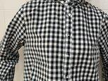 ギンガムチェックシャツ(black)の画像