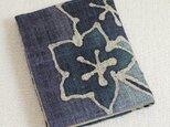 ティッシュ&マスクケース【青い花】の画像