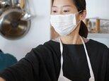【wafu】【ホワイト】リネン マスク Wガーゼリネン100% 抗菌 防臭/z021a-wht2【ゆうパケット可】の画像