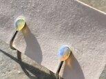 エチオピアオパール ルースのイヤリングの画像