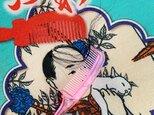 ZINE  ゆるふわ 鹿峠のテキスタイルと植毛刺繍の世界の画像