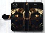【カラヴァッジョ Narcissus ナルキッソス】スマホケース手帳型 全機種対応 iPhone11の画像