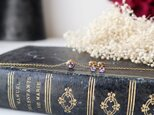 【14kgf】宝石質タンザナイトのベゼルネックレスの画像