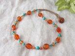 Orange×Blue Necklaceの画像