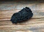 革花のスリーピン Mサイズ ブラックの画像