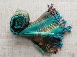 ケニアの綿織物 キコイ ショール / ストールの画像