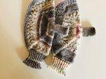 №334 手編みミトン サーカスの画像