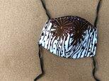 e164-アフリカ布マスクの画像