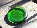 ガイアストーン グリーンオブシディアン パームストーンの画像