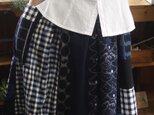 B様専用 久留米絣反物からギャザースカートの画像