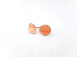 ピアス カールpetit arch/apricotの画像
