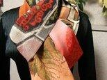 ●花hana花♪正絹銘仙パッチストールCの画像