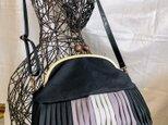 『Dさまオーダー品』倉敷帆布バルーンバッグ24  グレーグラデ No.104の画像