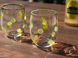 【天然生活掲載作品】「瀬戸内レモン&ライムグラス」爽やか 夏 カフェ ナチュラル 檸檬 lemon イエローグリーンの画像