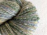 手紡ぎ毛糸:双糸 i-10-002の画像