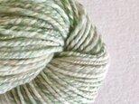 手紡ぎ毛糸:双糸 i-10-005の画像