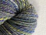 手紡ぎ毛糸:双糸 i-10-009の画像