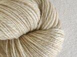 手紡ぎ毛糸:双糸 i-10-011の画像