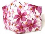 [C様専用]ハワイアン ファブリック ファッション プリメリア ピンク Lサイズ mfm3Q-142Lの画像