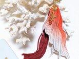 金魚のヒレ ピアス(イヤリング)の画像