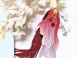 『にいはる様』オーダー品 金魚のヒレ ピアス(イヤリング)の画像