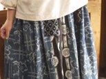 久留米絣からスタンドカラーのトップスの画像