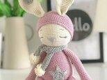 あみぐるみ うさぎちゃん おもちゃ 出産祝い 女の子 子供誕生日 編みぐるみの画像