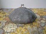 Beaded Purse --Morion-- (M)の画像