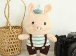 あみぐるみ ブタちゃん 編みぐるみ プレゼント ハンドメイド 男の子 出産祝い 女の子 お部屋飾り 手編みの画像