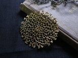 Brass brooch 「Spring time of life」の画像