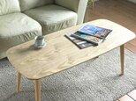 ※o様専用ページ※【自分だけの選べるテーブル】チェスナットテーブル80cmの画像