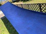 藍染、3.5m、2重織生地、COTTON100%、国産110cm巾の画像