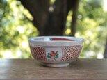 椿の赤絵の福鉢①の画像