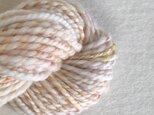 手紡ぎ毛糸:双糸 i-10-015の画像