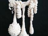 04.かぎ針編みの壁掛けミニオブジェ〈スプラウト〉の画像