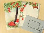 レターセット(A5) 林檎の画像