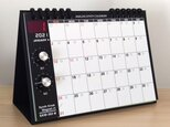 NEW!【2021年 カレンダー】アナログシンセカレンダーSKM-365PE・2021モデル 卓上/SKMクラシックの画像