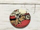 手刺繍ブローチ*セシル・アルディン「ジャックとジル」よりの画像