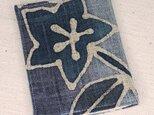 麻ティッシュ&マスクケース【青い花ーB】の画像