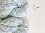 手紡ぎ毛糸:双糸 i-10-021の画像