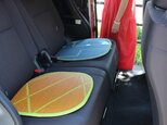 OTO い草:シートクッション(L)2枚セット: 座布団 助手席 車 車椅子 チェアマット シートクッションの画像