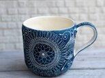 青いマグカップ(3)の画像