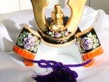 兜 陶磁器 五月人形    兜飾り 節句飾り の画像
