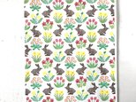 patterned papaer -spring flowers-の画像