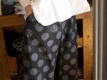 久留米絣パンツの画像